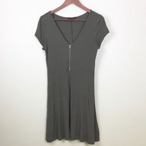 Express Olive Green Mini Dress